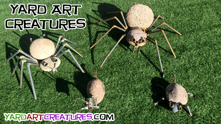 Yard Art Creatures Group