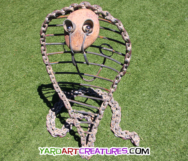 Yard Art Creatures King Cobra