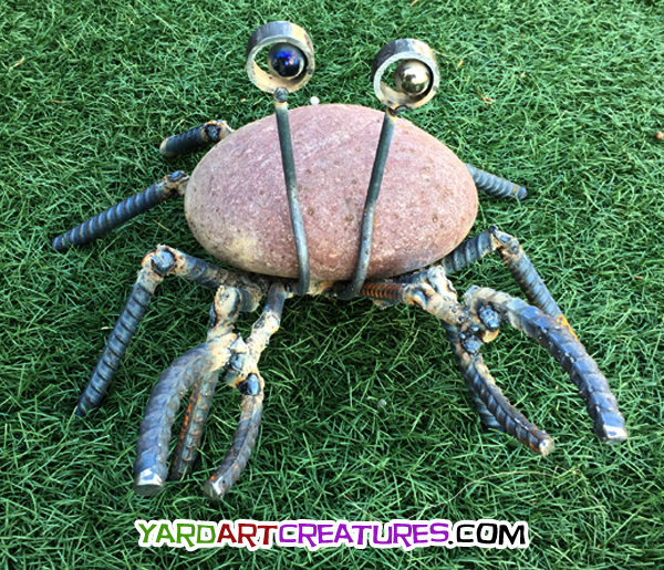 Yard Art Creatures Crab