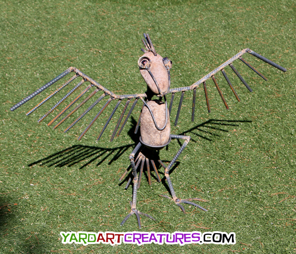 Yard Art Creatures Thunderbird