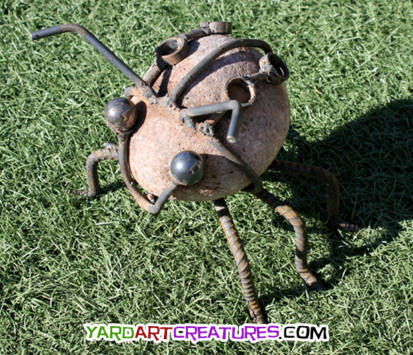 Yard Art Creatures Lady Bug