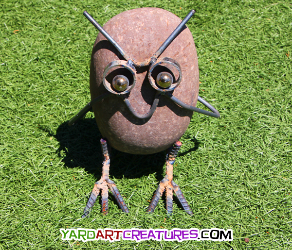 Yard Art Creatures Owl