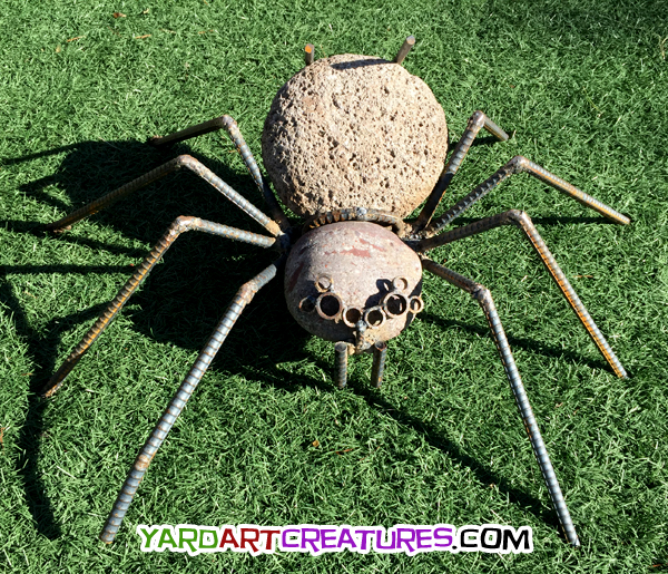 Yard Art Creatures Eight Eye Spider