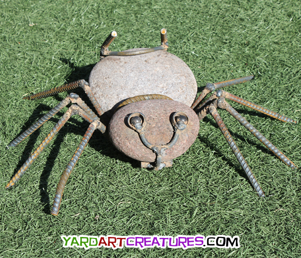 Yard Art Creatures Two Eye Spider