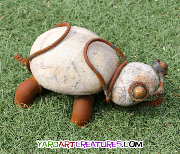 Yard Art Creatures Turtle